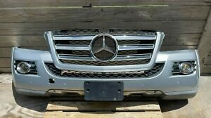 2008 - 2009 MERCEDES GL550 - FRONT COMPLETE BUMPER COVER IN SILVER COLOR, OEM