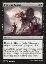 Douse in Gloom X 4 from Magic the Gathering Fate Reforged Set NM-Mint Condition