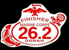 "2018 any year Marine Corps Marathon D.C.Finisher Magnet 4""x6"" Car, refrigerator"