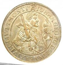 1626 Germany Saxony Taler 1T Coin - Certified NGC AU55 - Rare Grade!