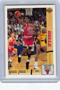 LOT OF 4 1991 Upper Deck 44 Michael Jordan Chicago Bulls