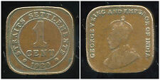 STRAITS SETTLEMENTS  1cent  1920