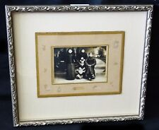 """1900 Chinese Framed B&W Photo """"Three Young Man"""" by unknown maker (Mil)"""
