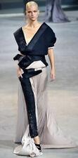 Haider Ackerman Black Wrap Sash Lounge Jacket.black.£2000+.Runway Piece!