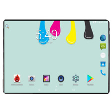 Tablet Android 9.0 10.1in 6G RAM 64G ROM 1280X800 2.5D IPS Screen Dual SIM 3G 4G