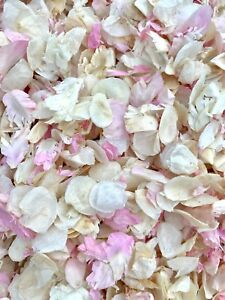 50 Guests x Biodegradable Wedding Confetti Pink Mix Petals Dried Vintage Flowers