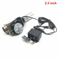 """2.5"""" 63mm Type Electric Exhaust Catback Downpipe E-Cutout Valve System Remote"""