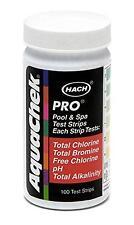 AquaChek 511710 Pro Swimming Pool Spa 5-in-1 Test Kit, 5-Way 100 Strips
