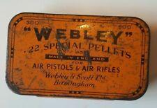 Webley & Scott .22 Calibre Hunting Pellets