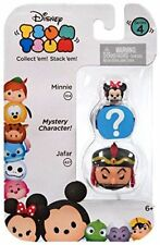 Tsum Tsum 3 Pack Jafar Mystery Character Minnie Figures Series 4 New