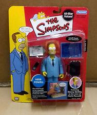 "Matt Groening THE SIMPSONS Stars HERB POWELL 5"" en Caja All Figura De Acción De Juguete"