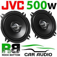 JVC 500 WATTS 5.25 Inch 13cm 2 Way Car Van Truck Door Dash Shelf Speakers Pair