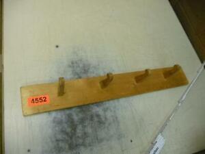 4552. Alte Holzgarderobe Holz Garderobe Halter Hakenleiste Wandgarderobe