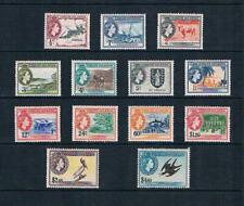 British Virgin Is 1956 QEII Scenes of Islands - SC 115-127 [SG 149-161] MINT 20S