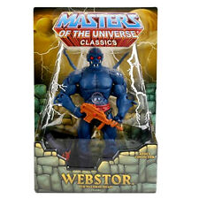 """MASTERS OF THE UNIVERSE Classics_WEBSTOR 6"""" figure_Exclusive Limited Edition_MIP"""