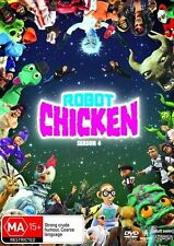 Robot Chicken : Season 4 (DVD, 2009, 2-Disc Set) region 4