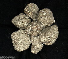 PYRITE FOOLS GOLD CRYSTALS PIECES 500G MINERAL MASS BIG