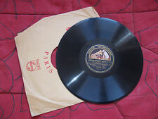 Yvonne Printemps - Sacha Guitry :  l'amour masqué - disque gramophone n° P 826
