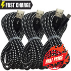 For iPhone 12 11 XS Max XR X 8 7 6 SE USB Fast Charger Cable Data Sync Cord 6FT