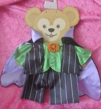 Disney Parks Duffy The Disney Bear Vampire Halloween Costume Outfit 17''