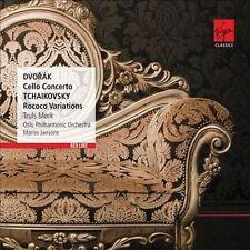 Dvorak: Cello Concerto; Tchaikovsky: Rococo Variations (CD, Feb-2013, Virgin...