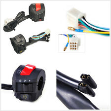 "2 X Multifunction 7/8"" 22mm Motorcycle ATV Handbar Switch Control Assemblage 12V"