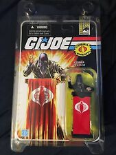 SDCC Exclusive GI JOE Cobra Commander Black Suit 2008 25th Anniversary Hasbro