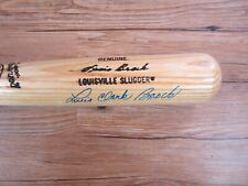 Lou Brock Autograph / Signed Baseball Bat Full Name St. Louis Cardinals