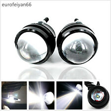 Super Bright 5W Cree White Fisheye Automobiles Daytime Running Lights Fog Lamps