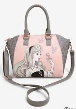 Loungefly Disney Sleeping Beauty Aurora Satchel Purse Handbag NEW