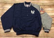 New York Yankees Starter Jacket Pullover Vtg 90s Medium Embroidered MLB Baseball