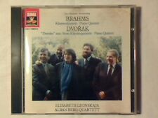 ELISABETH LEONSKAJA ALBAN BERG QUARTETT Brahms Dvorak piano quintet cd LIKE NEW