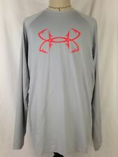 Under Armour CoolSwitch Thermocline Mens Shirt 2XL Size Loose Fish 1271474 064