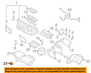 FORD OEM Blower Motor-Resistor 6E5Z18591AA