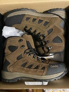 Cabela's men's Snow Runner model leather hiking/work boots (style 83-0535) 13 D
