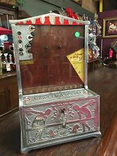 "1926 1 cent Mills TARGET Vending Trade Stimulator "" Watch Video"