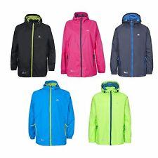 Trespass Unisex Qikpac Mens / Womens Waterproof Breathable Packaway Jacket Coat