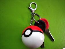 US SHIP Pokemon Poke Ball Key Chain Cute Toy Cosplay Keychain Keyring Gift