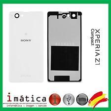TAPA BATERIA TRASERA SONY XPERIA Z1 COMPACT MINI M51W D5503 COVER BLANCO BLANCA