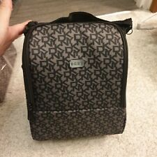 DKNY SIGNATURE THERMAL LUNCH Bag Black grey office new cooling bag last 5 pcs