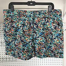 Candie's Linen Blend Floral Shorts Size 13 Juniors- EUC!