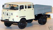 Rare Handbuilt 1/43 East German truck IFA W50L dual cab MIB