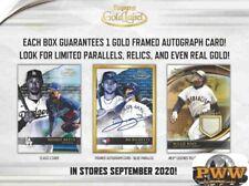 ATLANTA BRAVES 2020 Topps Gold Label Baseball Half Case Break #4