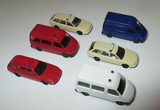 Rietze  AUDI  A6 und Ford Transit Einsatzfahrzeuge 1:160 Spur N - 6 Stück > Neu