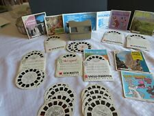 Vintage GAF View Master & 31 Reels Mickey Mouse Huckleberry Hound and MORE