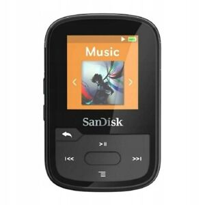 SanDisk Clip Sport Plus MP3 Player 16GB Bluetooth Wasserdicht Schwarz