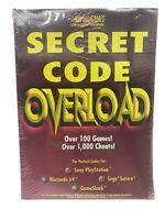 Brady Games Secret Code Overload Guide Nintendo 64 PS1 Sega Saturn Game Shark