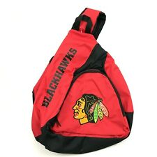 NEW NHL CHICAGO BLACKHAWKS Sling Bag Red Backpack Crossbody Shoulder Bag