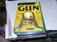 Gun - Original Xbox Game - Complete & FREE SHIPPING!!!!!!!!!!!!!