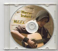 (IZ176) Warren Ireland, M.E.F.I. - DJ CD